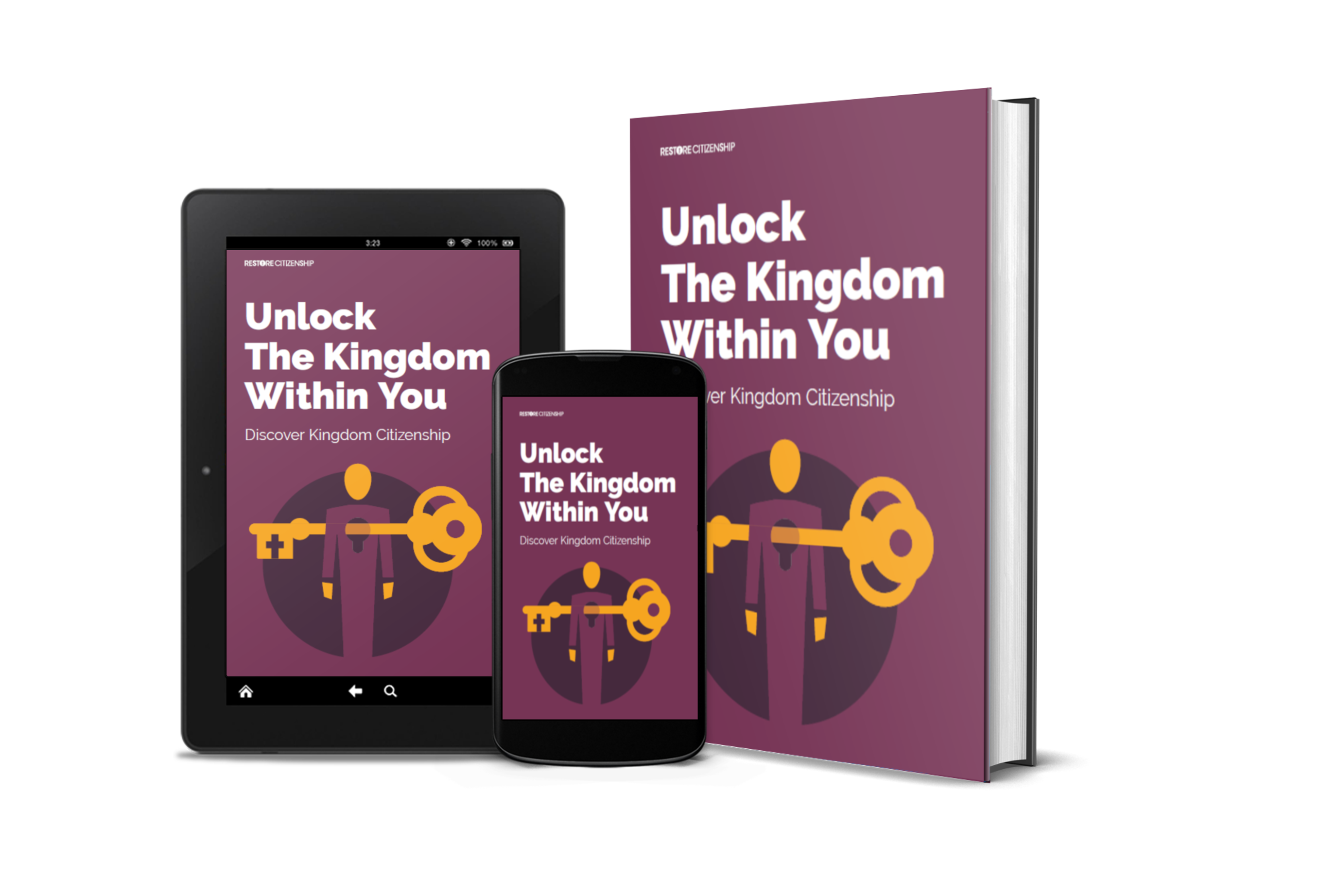 Unlock the kingdom within you ebook